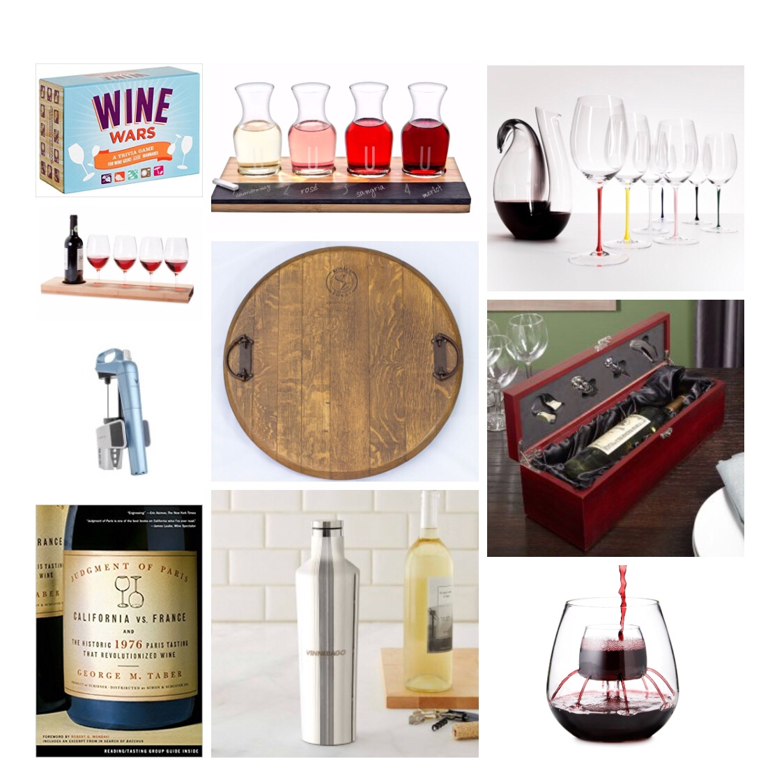 Holiday Gift Guide for Wine Lovers