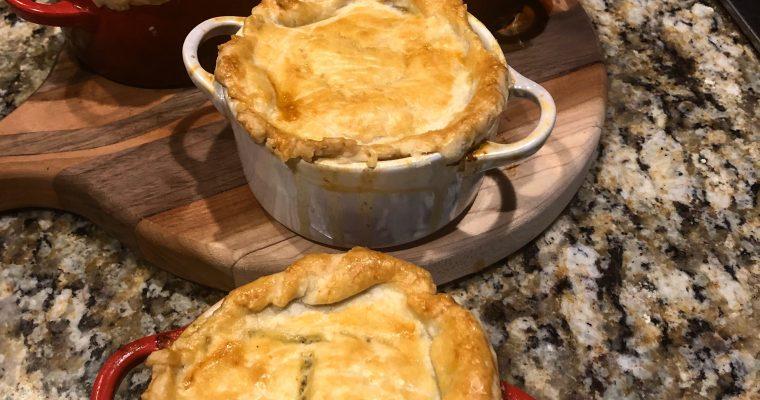 Mini Chicken Pot Pies Le Creuset