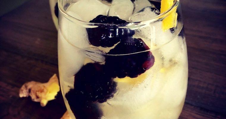 Ginger and Blackberry White Wine Sangria