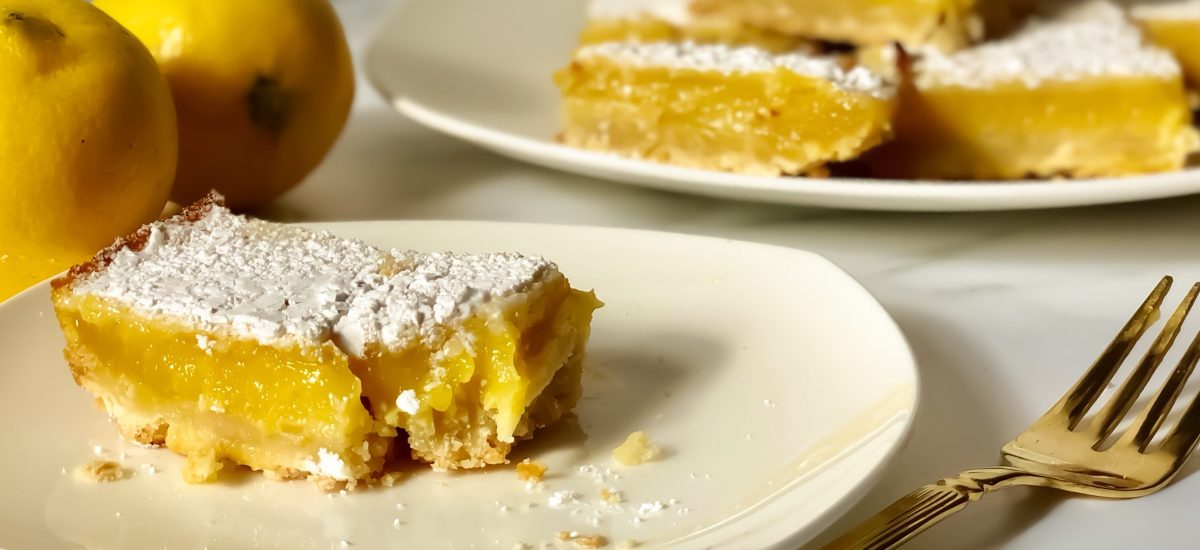 Zesty Lemon Bars Recipe