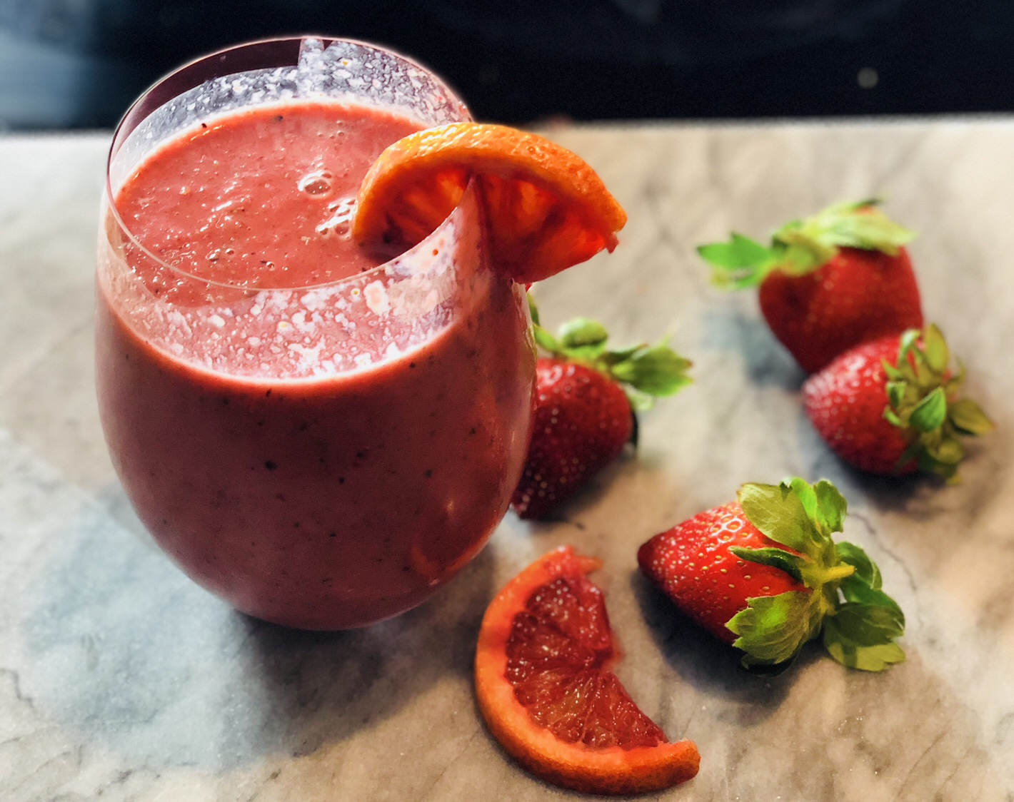 Blood Orange Smoothie