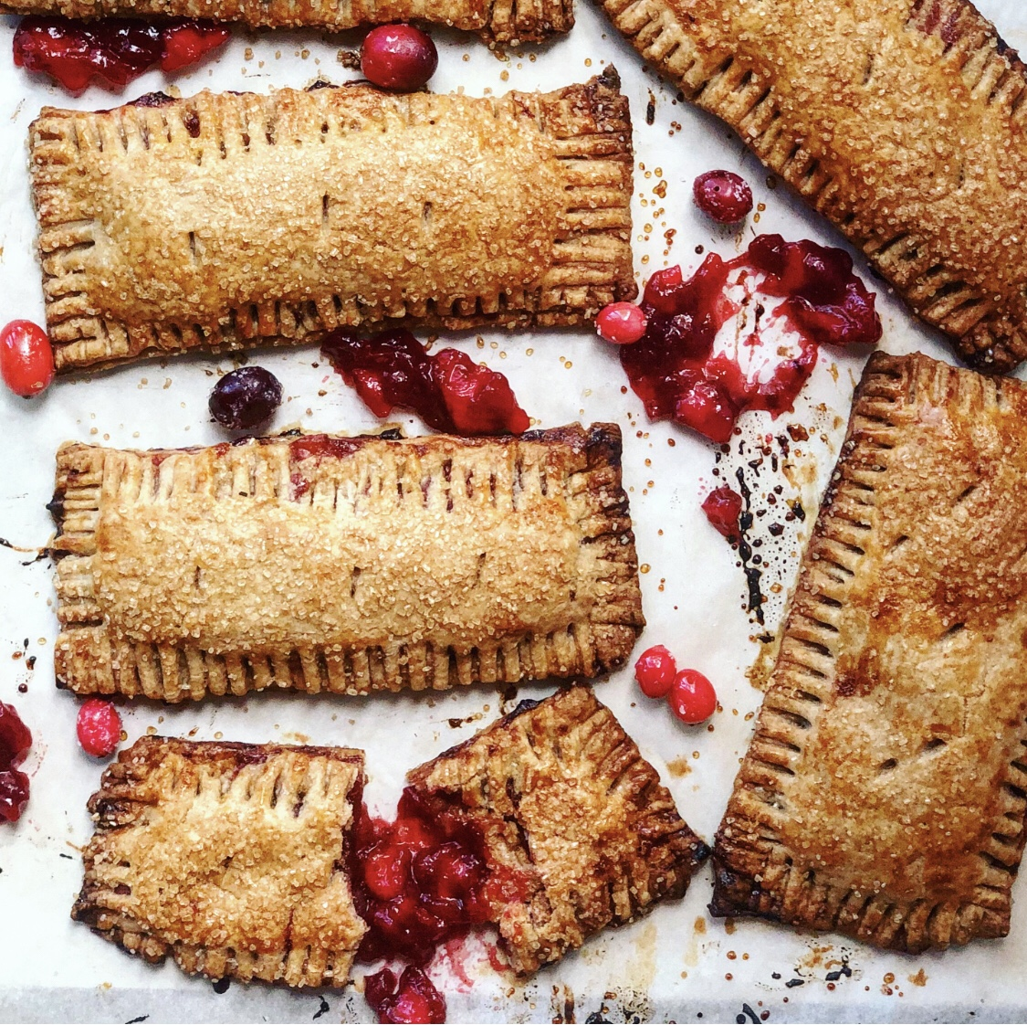 Cranberry Apple Rye Hand Pies & The Great American Baking Show
